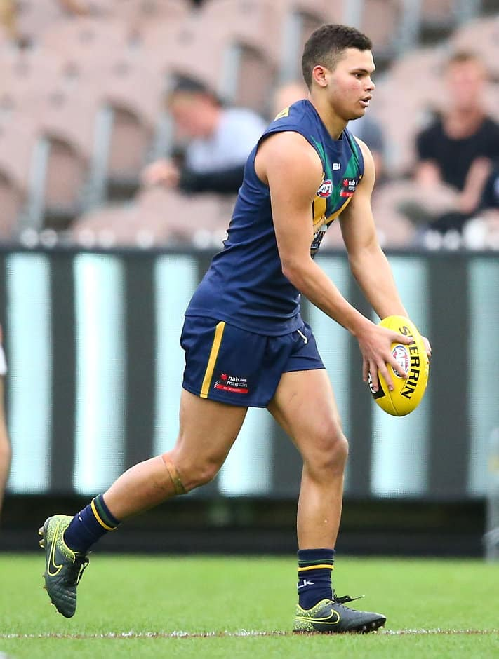 Brandon Parfitt in action for AFL Academy earlier this year - ${keywords}